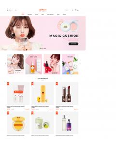 SM Natural - Responsive Cosmetics Magento Theme