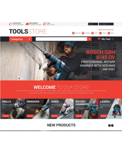 Contractor Tools Magento Theme