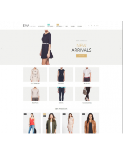 Clothes Store Magento Theme