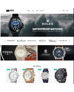 NovaWatch - Watches Store Responsive Magento Theme
