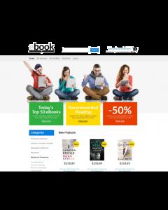 Selling E-books Magento Theme