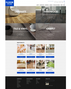 Floor Materials Store Magento Theme