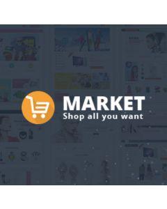 Market - Multistore Responsive Magento Theme