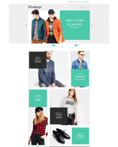 Shopsys - Designer Clothing Magento Theme