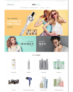 HairCrown - Hair Salon Responsive Magento Theme