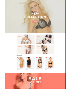 Petty - Lingerie Store Magento Theme