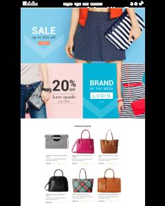Fashion & Handbags Magento 2 Theme