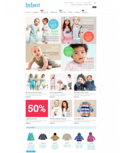 Kids Fashion Magento Theme
