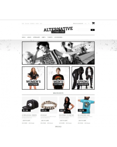 Alternative Fashion Magento Theme