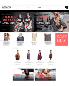 Plus Size Women Clothing Magento Theme
