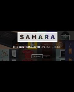 SAHARA - Responsive Magento 1 & 2 Theme
