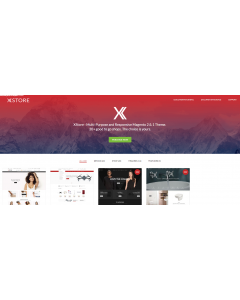 XStore - Multipurpose Magento 2 and Magento 1 Theme, clean & streamlined premium theme