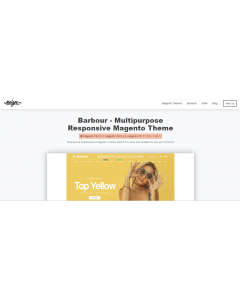 Barbour - Multi-Purpose Responsive Magento 2 and Magento 1 Theme
