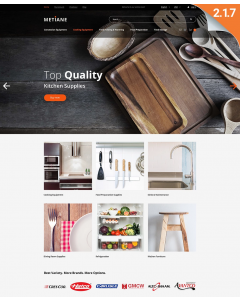 Metiane - Kitchen Supply Magento Theme