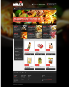 Asian Grocery Magento Theme