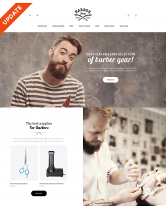 BarberShop - Barber Equipment Responsive Magento Theme