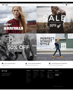Style - Fashion Clothes Magento Theme