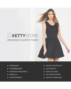 KettyStore Magento Theme