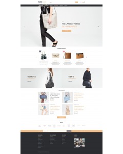 Stylish Bags Boutique Magento Theme