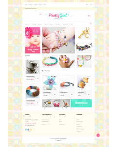 Kids Jewelry Magento Theme