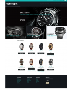 Buy Watches Magento Theme