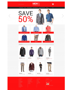 Men's Corporate Fashion Magento Theme