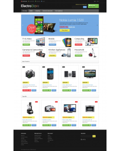 Electro Goods Magento Theme